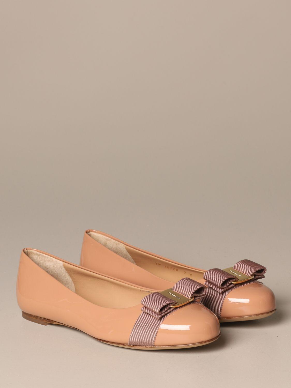 Manoletinas Salvatore Ferragamo: Zapatos mujer Salvatore Ferragamo rosa pálido 2
