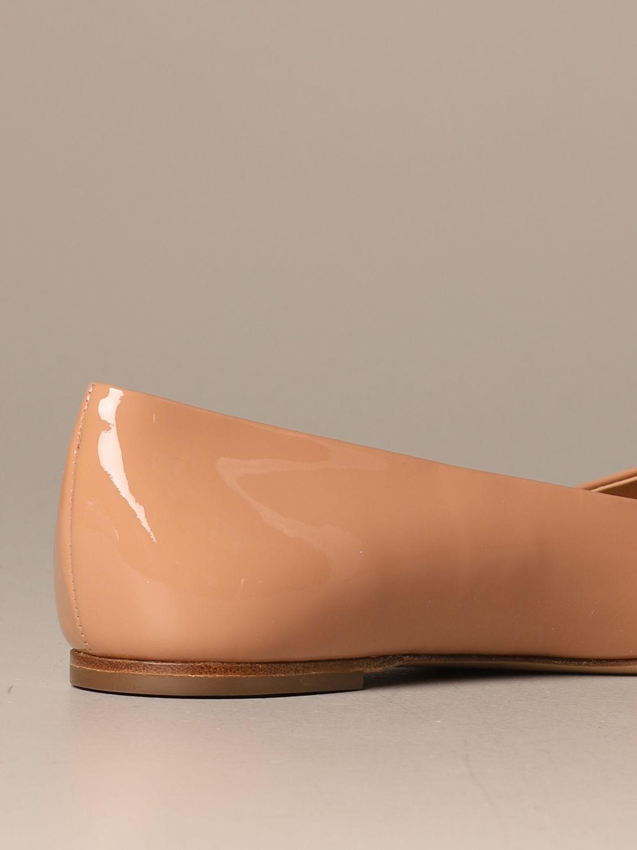 Manoletinas Salvatore Ferragamo: Zapatos mujer Salvatore Ferragamo rosa pálido 3