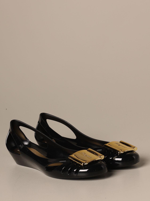 Manoletinas Salvatore Ferragamo: Zapatos mujer Salvatore Ferragamo negro 2
