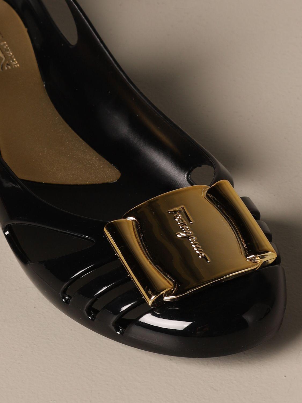 Manoletinas Salvatore Ferragamo: Zapatos mujer Salvatore Ferragamo negro 4