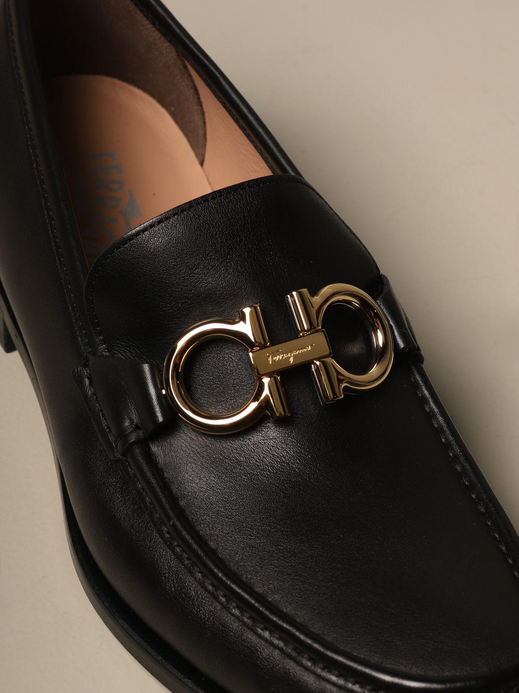 Rolo Salvatore Ferragamo leather loafer