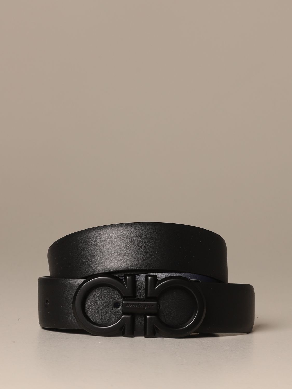 Belt Salvatore Ferragamo: Belt men Salvatore Ferragamo black 1