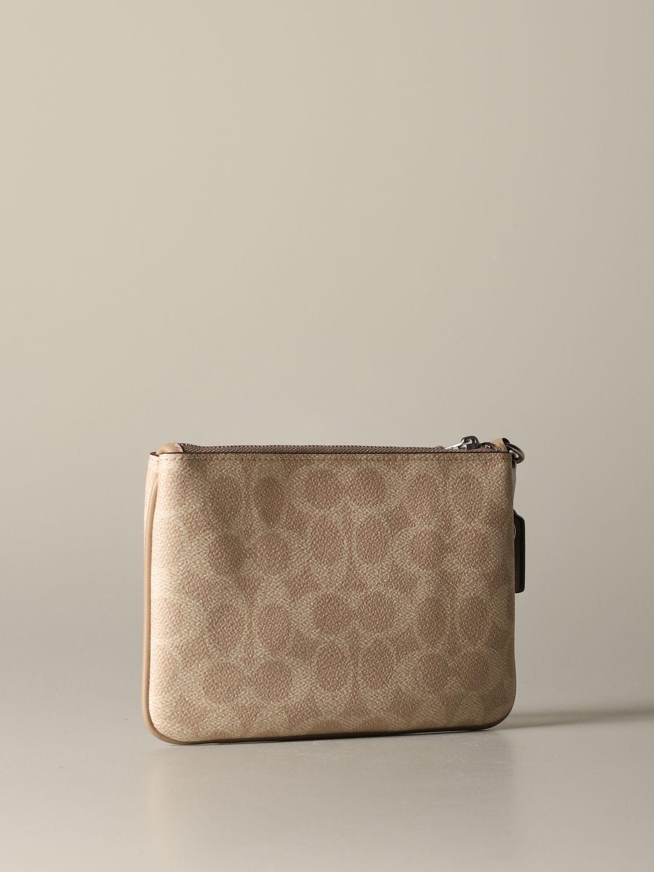 Mini bag Coach: Mini bag women Coach beige 2