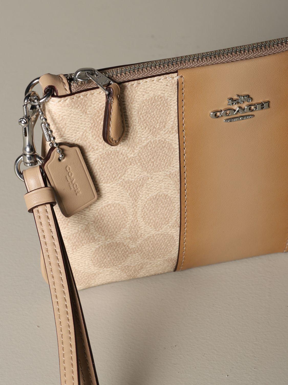 Mini bag Coach: Mini bag women Coach beige 3