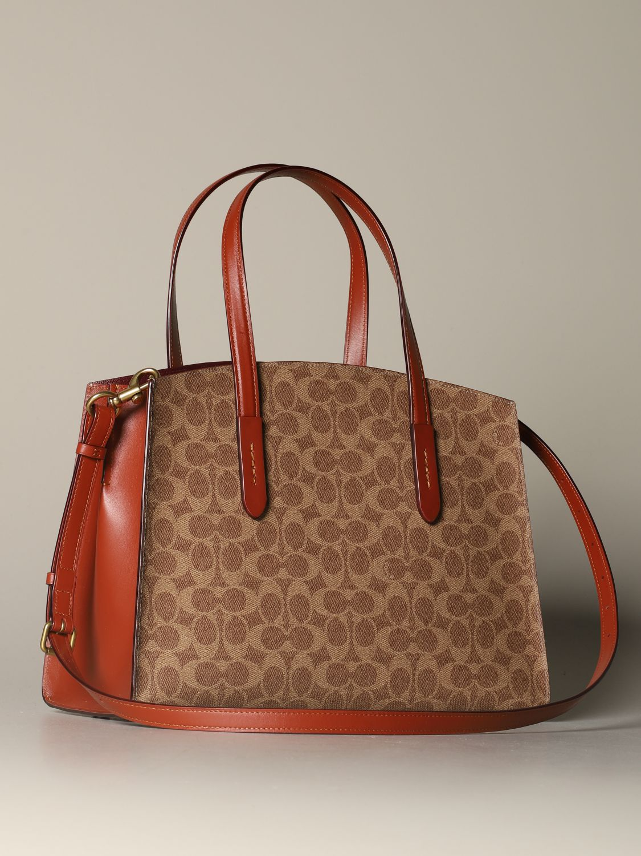 Tote bags Coach: Shoulder bag women Coach leather 2