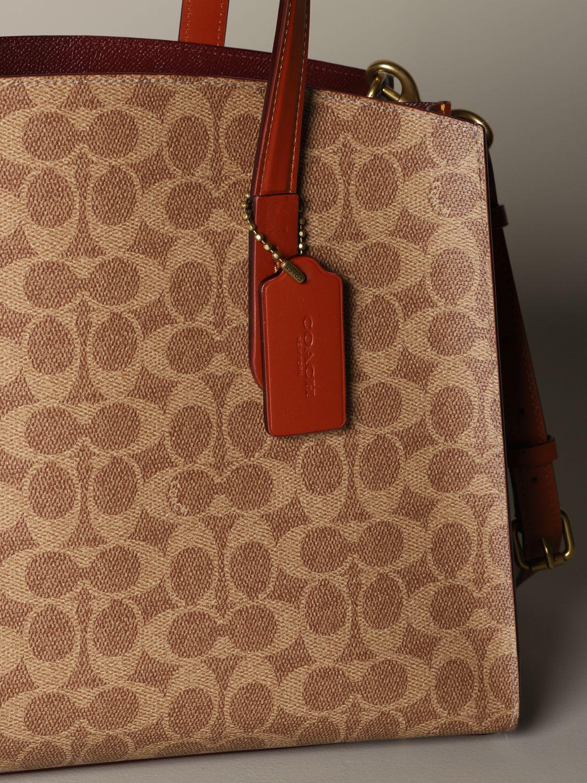 Tote bags Coach: Shoulder bag women Coach leather 3