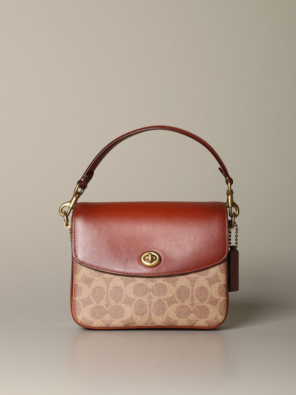 Shoulder bag Coach: Shoulder bag women Coach leather 1
