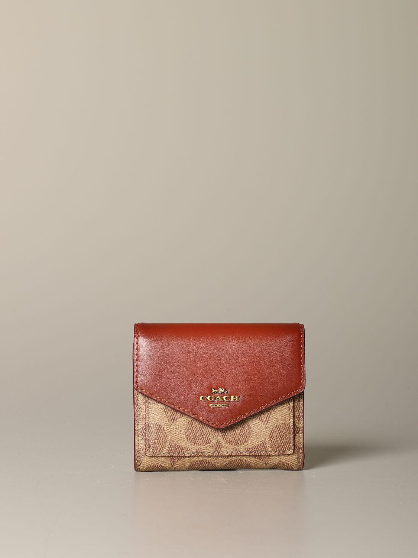 Wallet Coach: Wallet women Coach leather 1