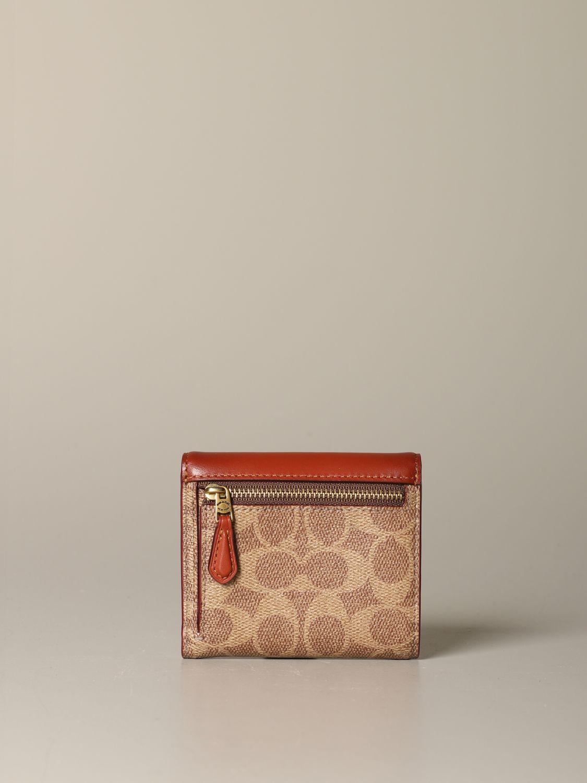 Wallet Coach: Wallet women Coach leather 3
