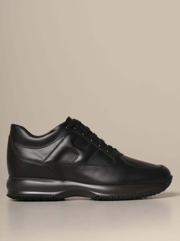 Sneakers Interactive Hogan in pelle