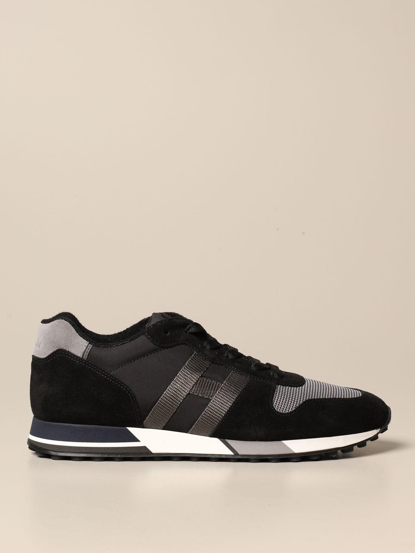 black hogan shoes