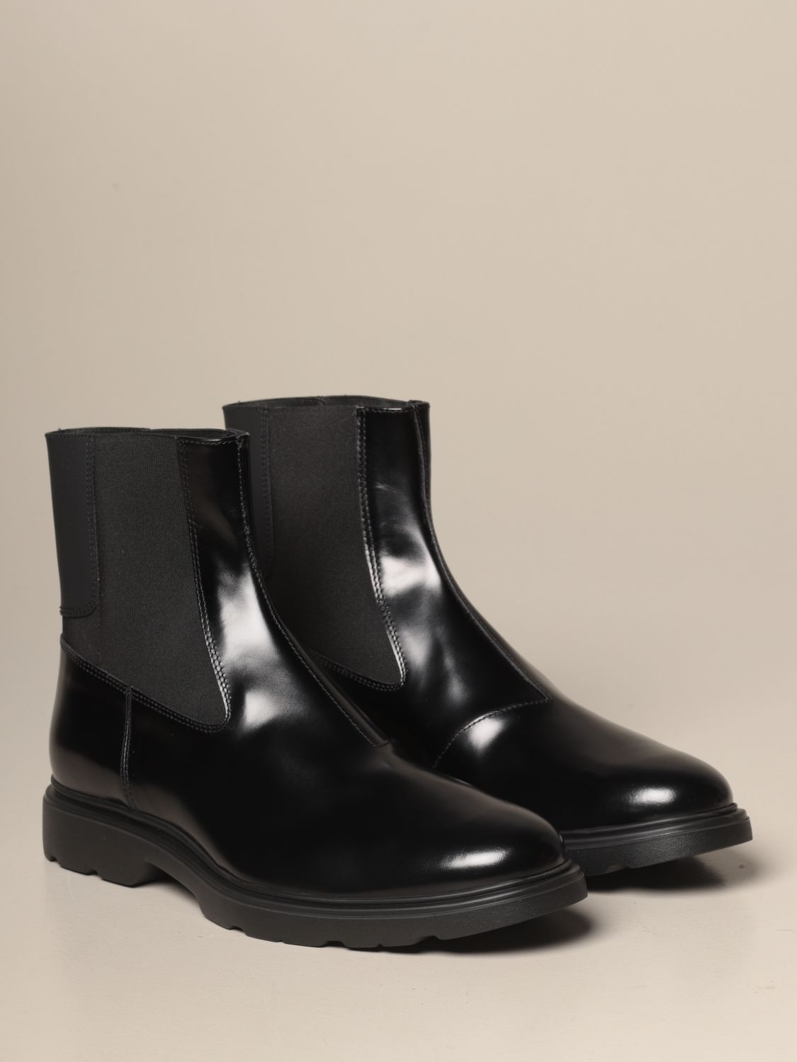 H393 Hogan Chelsea boot in brushed leather