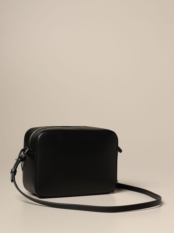 Mini bag Emporio Armani: Emporio Armani shoulder bag with embossed logo black 3
