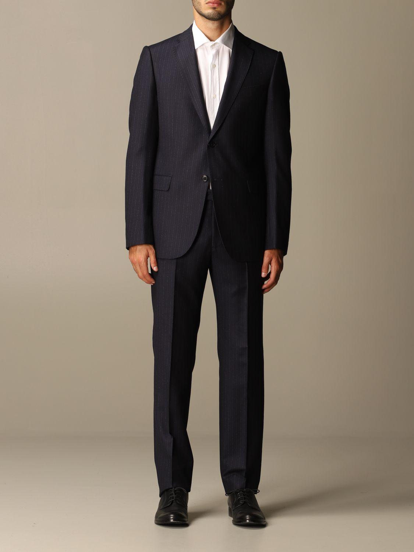Suit Emporio Armani: Suit men Emporio Armani blue 1