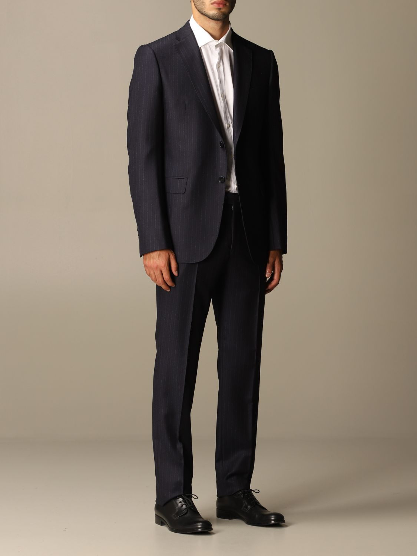 Suit Emporio Armani: Suit men Emporio Armani blue 2