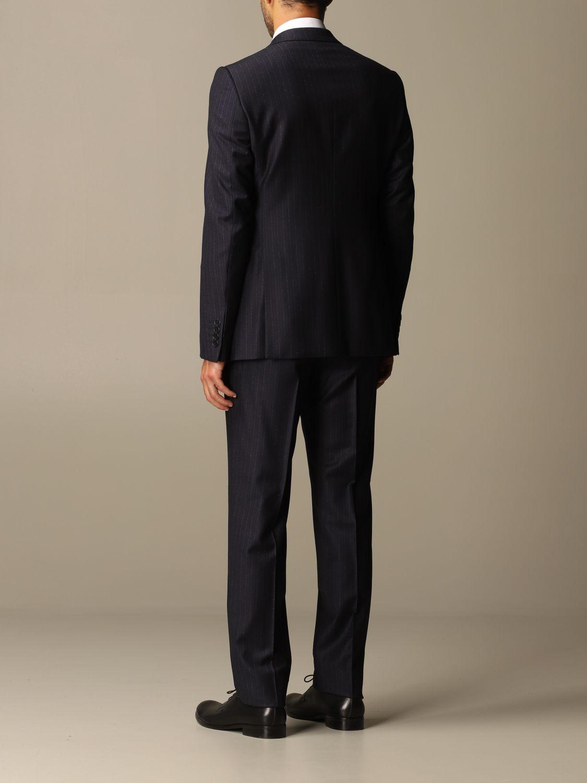 Suit Emporio Armani: Suit men Emporio Armani blue 3
