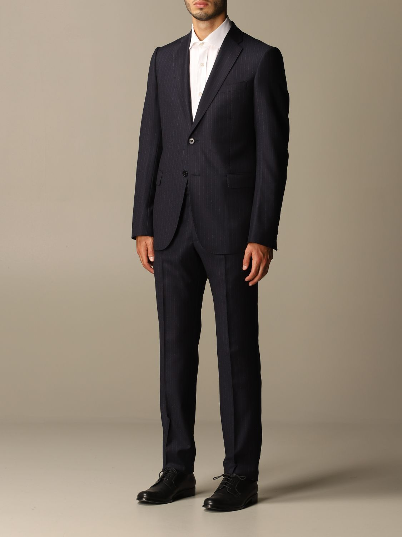 Suit Emporio Armani: Suit men Emporio Armani blue 4