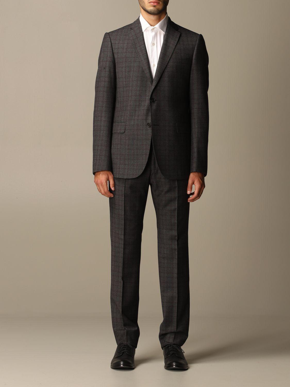 Suit Emporio Armani: Suit men Emporio Armani charcoal 1