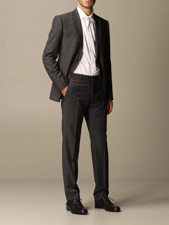 Suit Emporio Armani: Suit men Emporio Armani charcoal 2