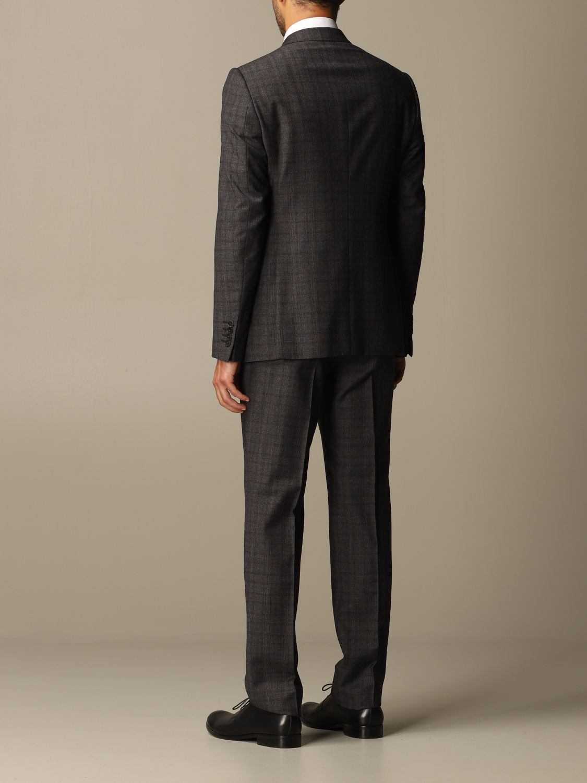 Suit Emporio Armani: Suit men Emporio Armani charcoal 3