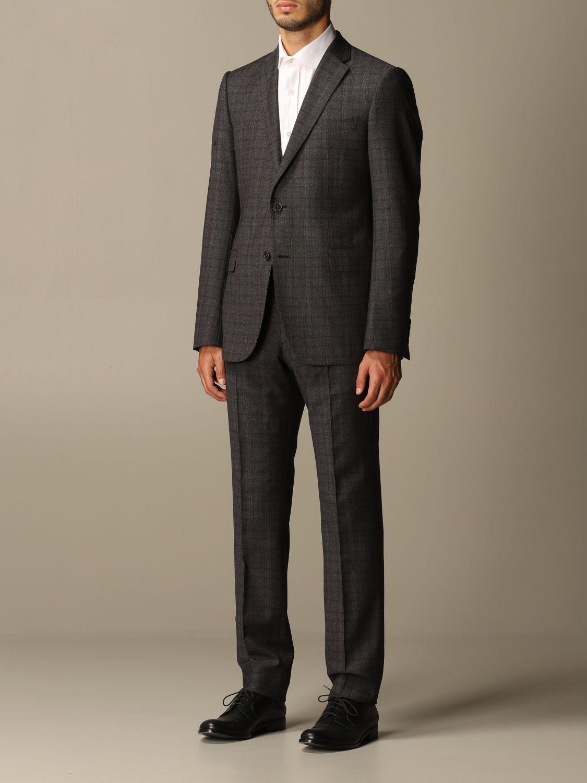 Suit Emporio Armani: Suit men Emporio Armani charcoal 4