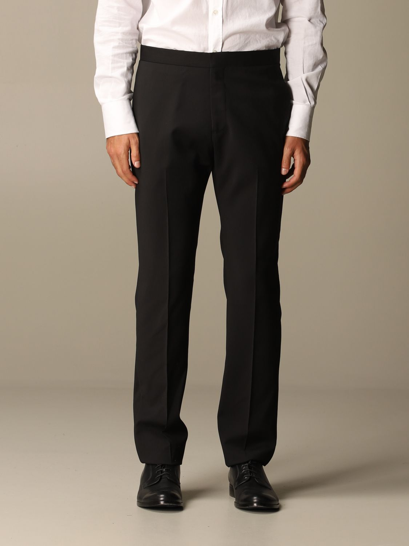 Suit Emporio Armani: Emporio Armani tuxedo dress in virgin wool drop 7 black 5
