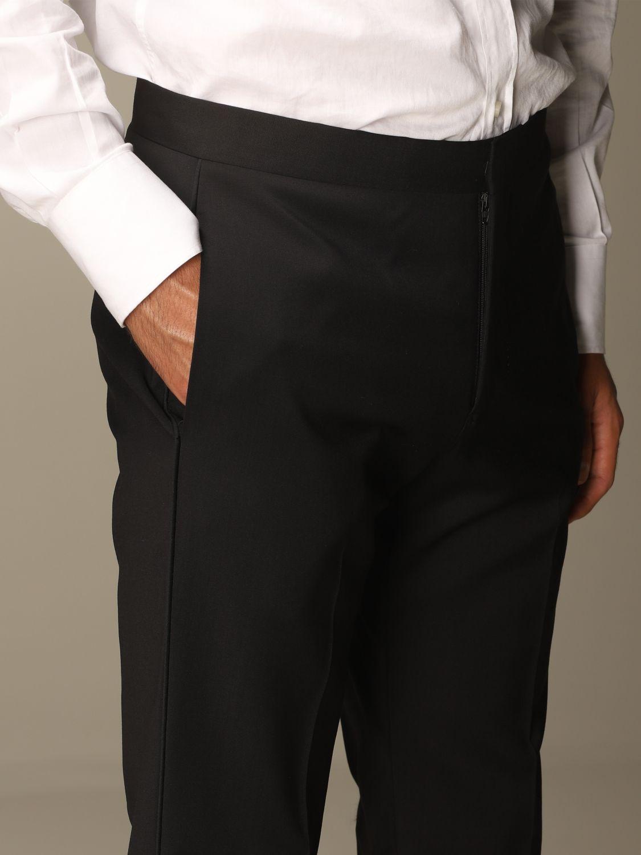 Suit Emporio Armani: Emporio Armani tuxedo dress in virgin wool drop 7 black 7