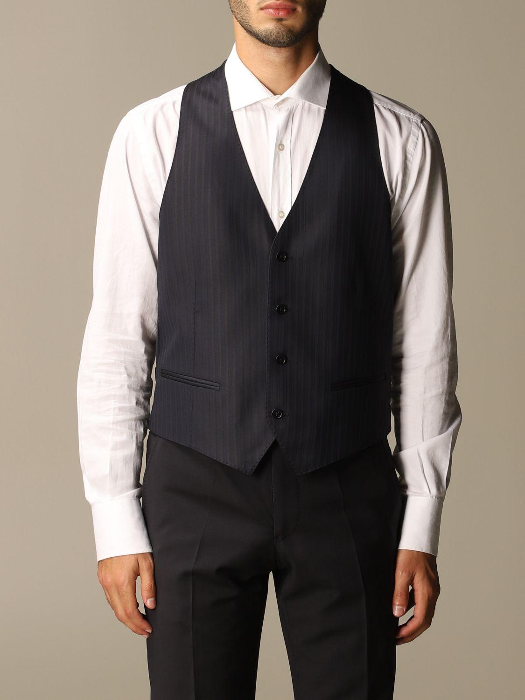 Suit vest Emporio Armani: Suit vest men Emporio Armani navy 1