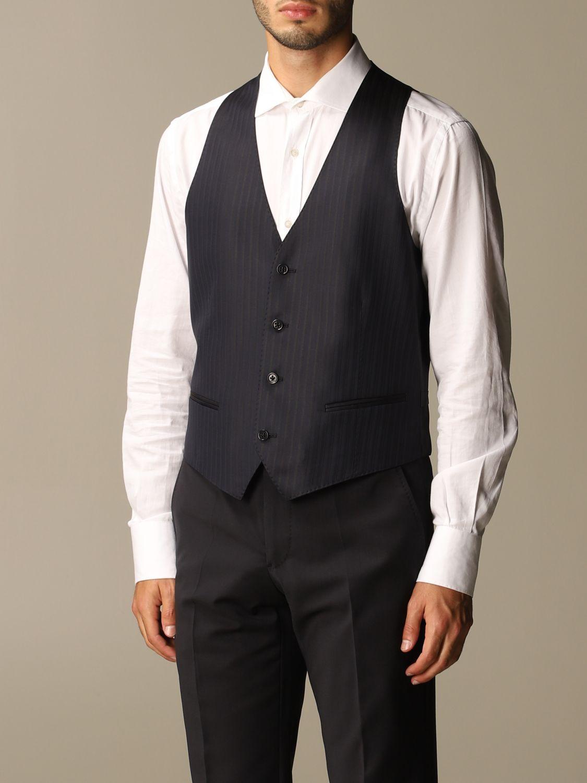 Suit vest Emporio Armani: Suit vest men Emporio Armani navy 3