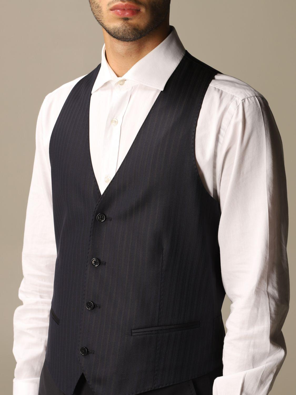 Suit vest Emporio Armani: Suit vest men Emporio Armani navy 4