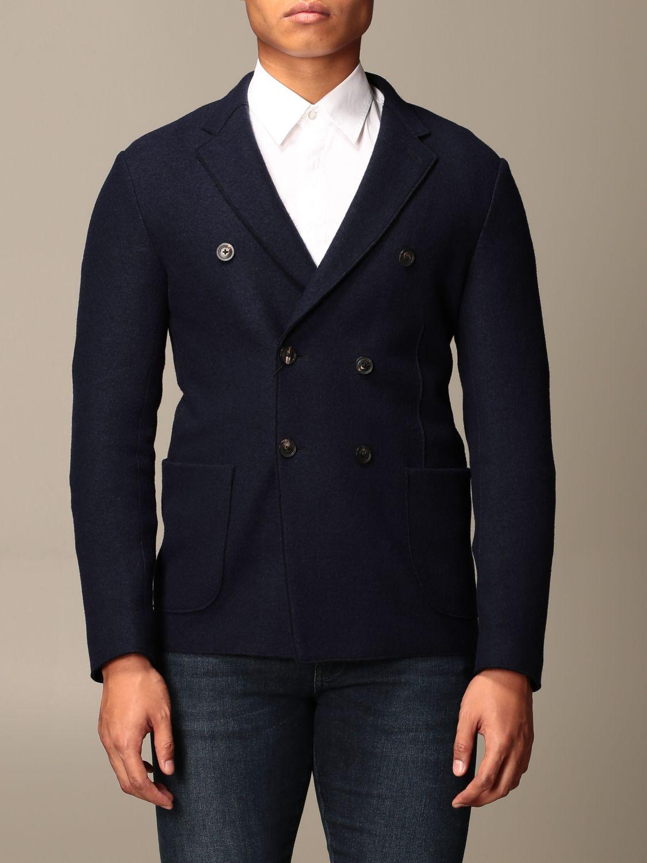 Blazer Emporio Armani: Blazer men Emporio Armani blue 1