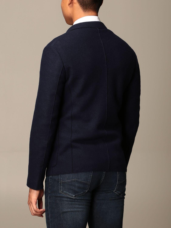 Blazer Emporio Armani: Blazer men Emporio Armani blue 2