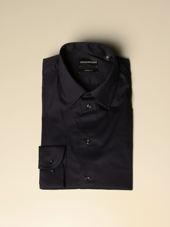 Shirt Emporio Armani: Shirt men Emporio Armani blue 1