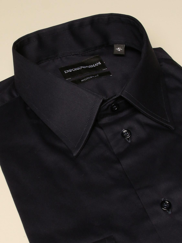 Shirt Emporio Armani: Shirt men Emporio Armani blue 2