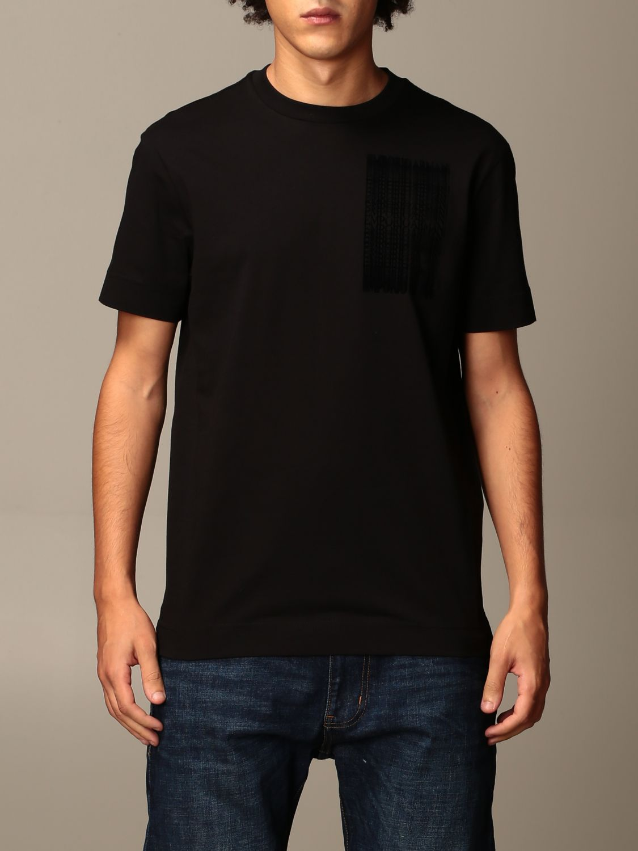 T-Shirt Emporio Armani: T-shirt herren Emporio Armani schwarz 1