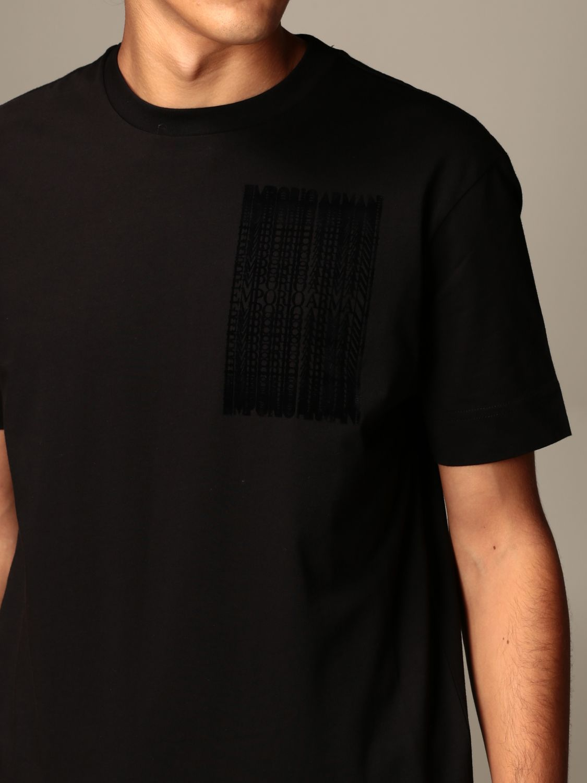 T-Shirt Emporio Armani: T-shirt herren Emporio Armani schwarz 3