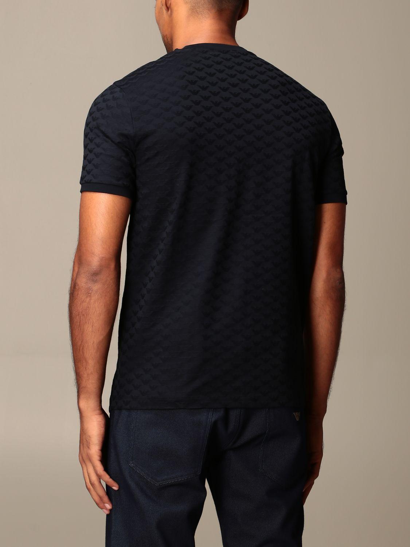 T-shirt Emporio Armani: T-shirt men Emporio Armani blue 2