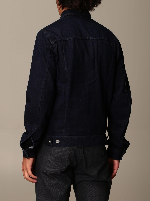 Jacket Emporio Armani: Jacket men Emporio Armani denim 2