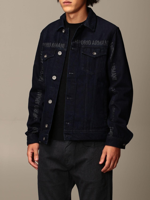 Jacket Emporio Armani: Jacket men Emporio Armani denim 3