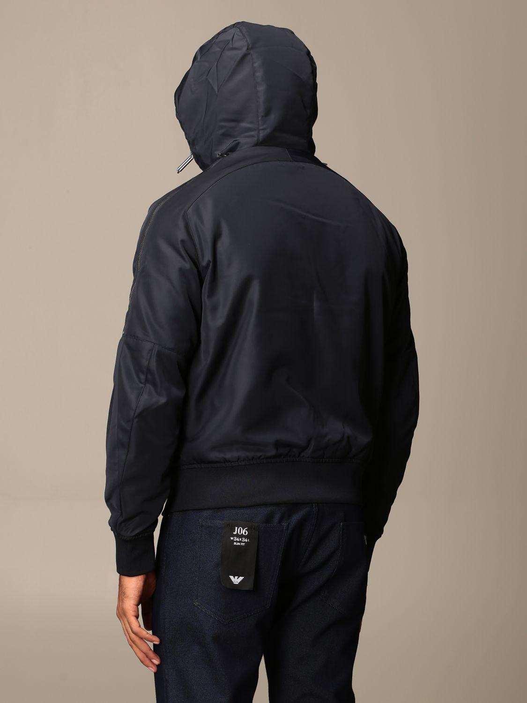 Jacket Emporio Armani: Jacket men Emporio Armani blue 2