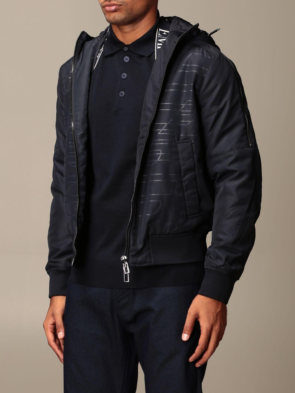 Jacket Emporio Armani: Jacket men Emporio Armani blue 3