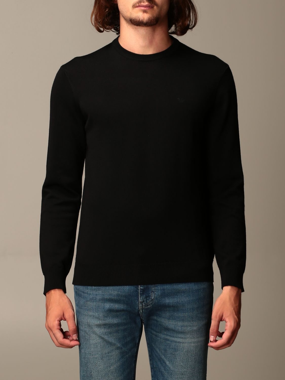 Sweater Emporio Armani: Sweater men Emporio Armani black 1