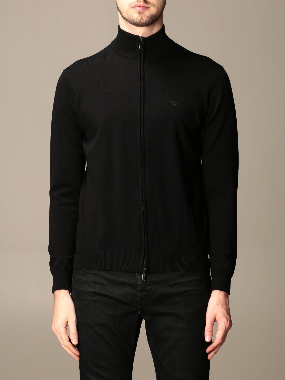 Pullover Emporio Armani: Pullover herren Emporio Armani schwarz 1