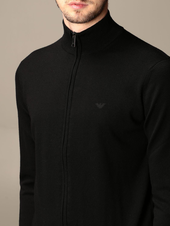 Pullover Emporio Armani: Pullover herren Emporio Armani schwarz 3