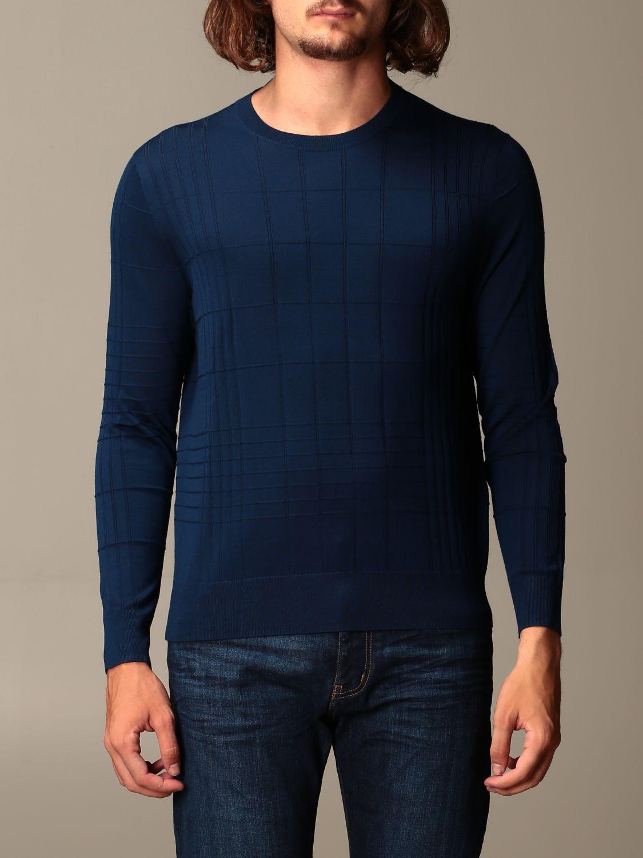 Sweater Emporio Armani: Sweater men Emporio Armani green 1
