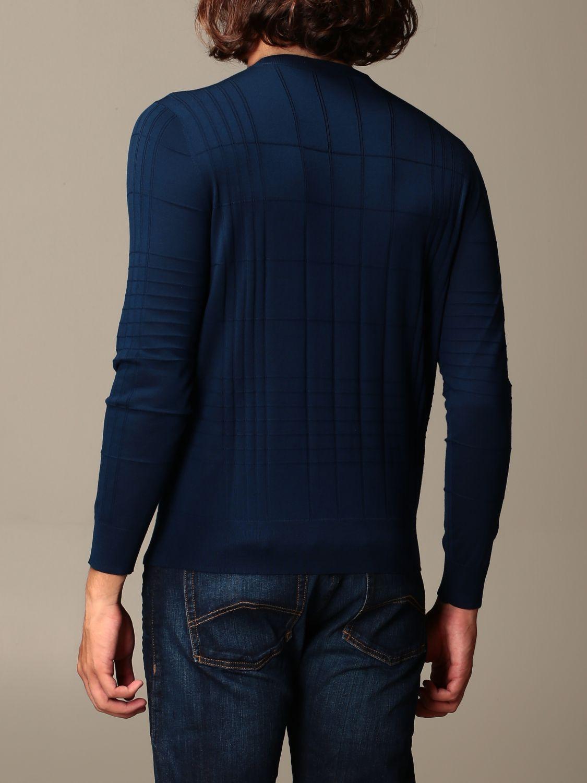 Sweater Emporio Armani: Sweater men Emporio Armani green 2