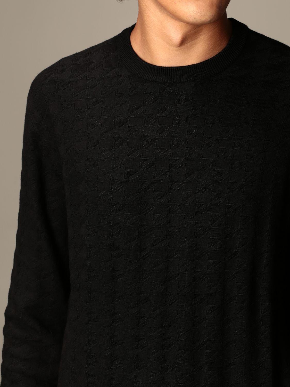 Sweater Emporio Armani: Sweater men Emporio Armani black 3