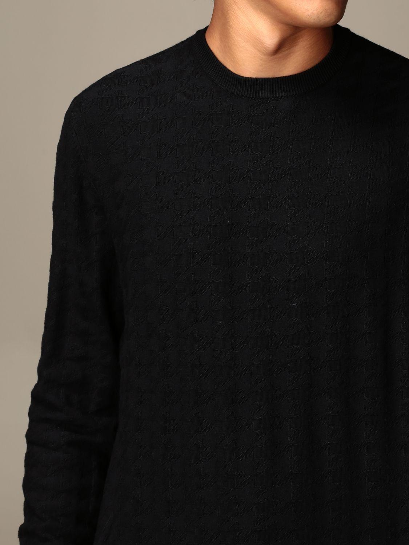 Pullover Emporio Armani: Pullover herren Emporio Armani blau 3