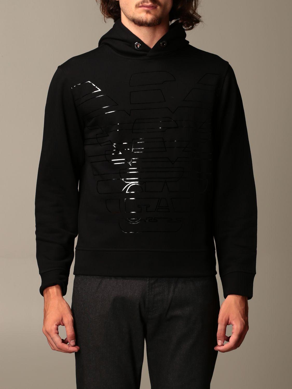 Sweatshirt Emporio Armani: Sweatshirt men Emporio Armani black 1