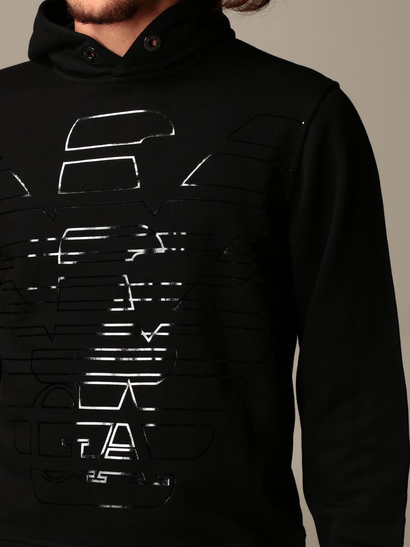 Sweatshirt Emporio Armani: Sweatshirt men Emporio Armani black 3